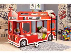Patrová postel London Bus