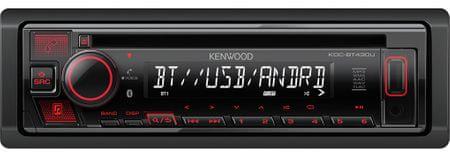 Kenwood Electronics KDC-BT430U