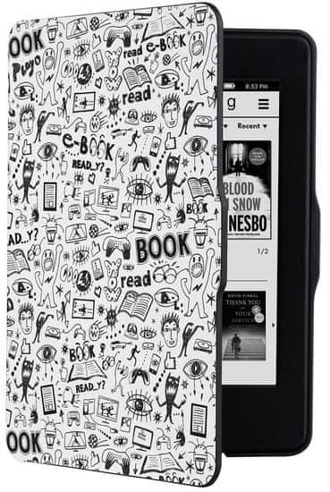 Connect IT Doodle pouzdro pro Amazon Kindle Paperwhite, bílé