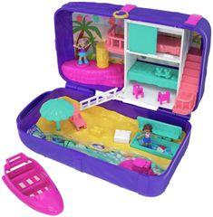 Mattel Polly Pocket - Titkos helyek: tengerpart