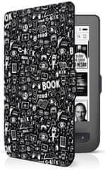 Connect IT Doodle tok a PocketBook 624/626 olvasóra, fekete