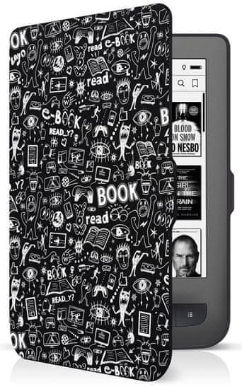 Connect IT Doodle pouzdro pro PocketBook 624/626, černé