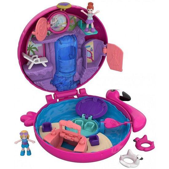 Mattel Polly Pocket - Svět do kapsy: plameňák