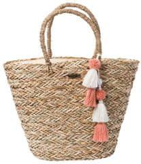 Rip Curl dámská béžová taška Shorelines Straw Beachbag
