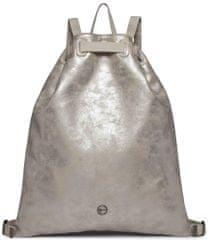 Tamaris Nico ezüst színű női hátizsák