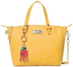 Desigual torbica Bols Colorama Gela, žuta