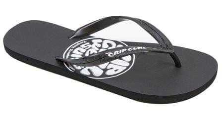 Rip Curl pánské žabky Brushed Wettie Logo 41 čierna