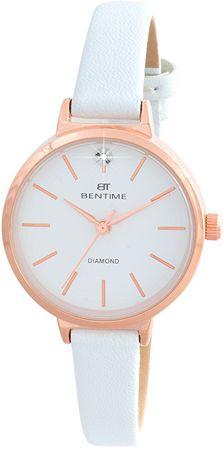 Bentime Dámské hodinky s diamantom 027-9MB-PT12024C