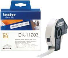 Brother termalne naljepnice DK11203, 17 x 87 mm