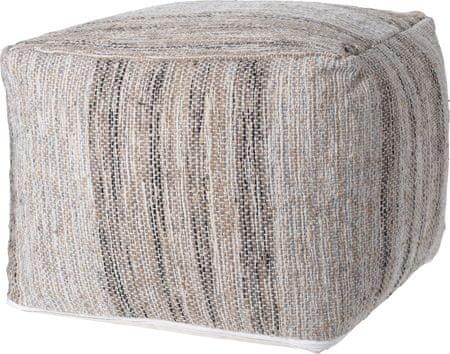 Koopman Taburet 45 x 35 cm z jutové bavlny