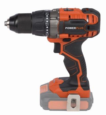 PowerPlus wiertarko-wkrętarka POWDP1510 20V LI-ION (bez baterii) Dual Power