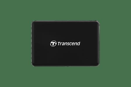 Transcend čitalec kartic RDC8, USB 3.1/3.0, micro USB v USB Type-C, črn - odprta embalaža