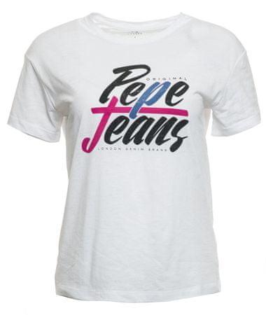 Pepe Jeans ženska majica Michelle, XS, bela