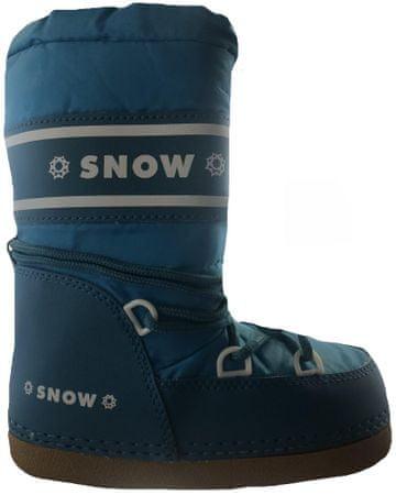 SNOW BOOT dětské zateplené sněhule 36-38 tmavofialová