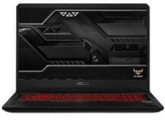 Asus prijenosno računalo TUF Gaming FX705GD-EW105 i7-8750H/8GB/SSD256GB+1TB/GTX1050/17,3FHD/FreeDOS (90NR0112-M02530)