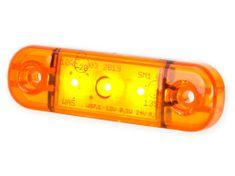 WAS Pozičné svetlo W97.1 (708) Bočná, oranžové LED