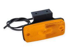 DOBMAR Pozičné svetlo DOB-45DZ/K LED, oranžové s držiakom