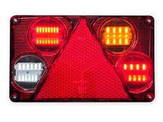 WAS Združená sv. W70DP (392)LED s hmlov. a Cúvacím s.