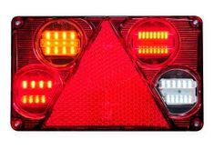 WAS Združená sv. W70DL (391)LED s hmlov. a Cúvacím s.