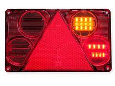 WAS Združená sv. W70DP (397) LED s Osvetlením SPZ