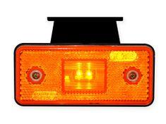 WAS Pozičné svetlo W17D (101KZ) Bočná oranž.LED s dr