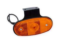 DOBMAR Pozičné svetlo DOB-46DZ/K LED oranžové s držiakom
