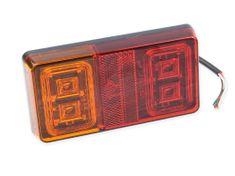 VAPOL CZ Združená sv. LED bez osv. SPZ, 150x60mm 12/24V