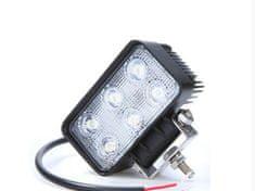 VAPOL CZ Pracovné svetlo 110x61x55,6xLED,1200Lm,12-24V