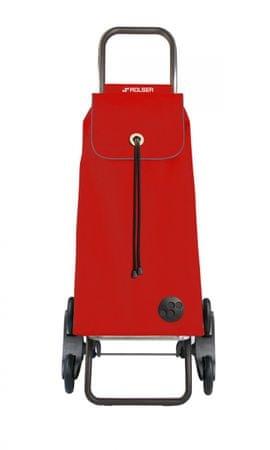 Rolser Rolser nakupovalna torba na kolesih za stopnice I-Max MF Rd6, rdeča