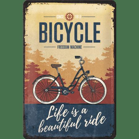 Postershop Plechová tabuľa: Bicycle (Freedom Machine)