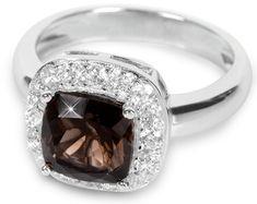 Silver Cat Srebra pierścień krystalicznym SC130 srebro 925/1000