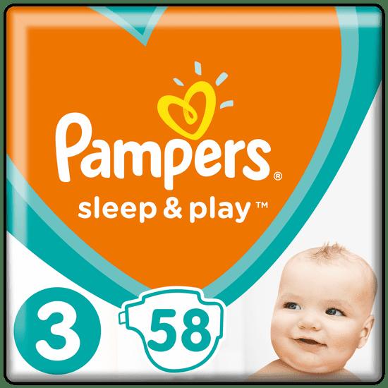 Pampers Sleep & Play 3 Midi (6-10 kg) 58 ks