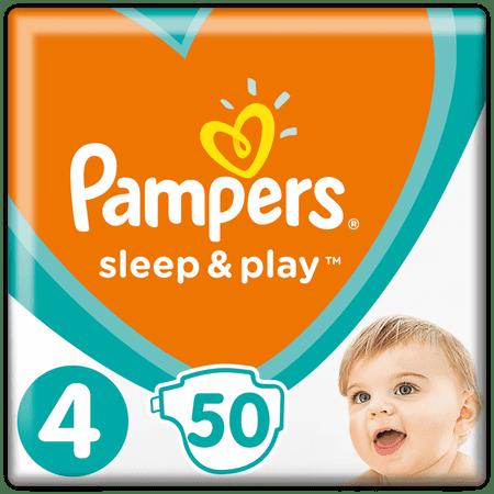 Pampers Pieluchy Sleep & Play 4 4 (9-14 kg) 50 szt.