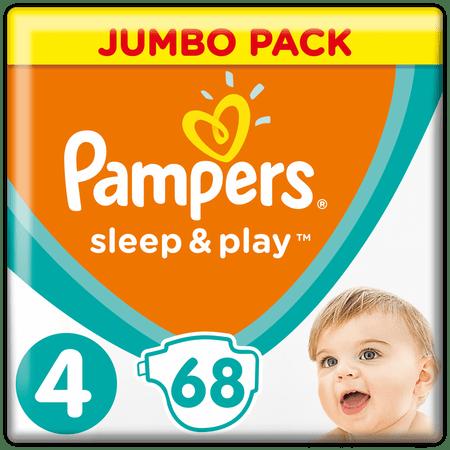 Pampers Pieluchy Sleep&Play 4, 68 szt.