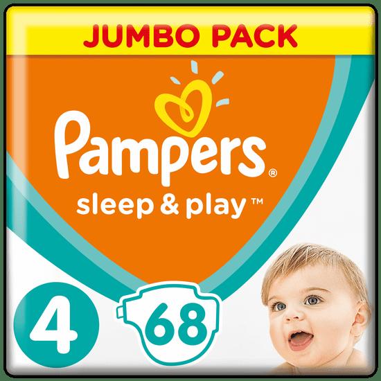 Pampers Sleep & Play 4 Jumbo Pack (9-14 kg) 68 ks