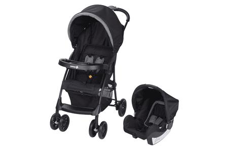 Safety 1st kombinirani otroški voziček Taly 2in1 Black Chic, črn