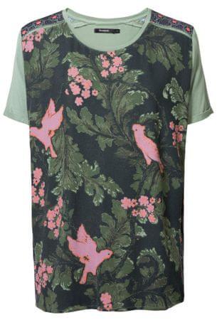 Desigual dámské tričko TS Willem S zelená