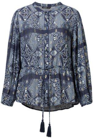 Desigual ženska bluza Cam Bharti, XS, temno modra