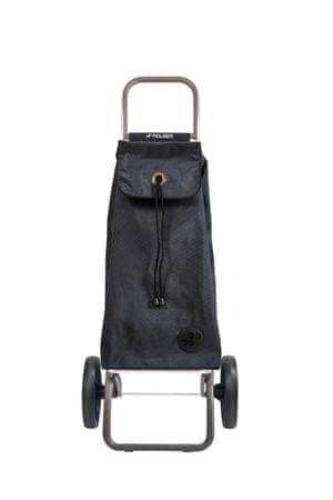 Rolser nakupovalna vrečka na kolesih I-Max MF Logic RSG, črna