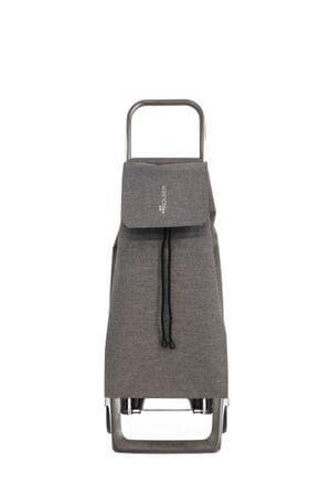 Rolser Nakupovalna torba na kolesih Jet Tweed JOY, svetlo siva