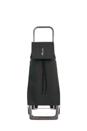 Rolser Nakupovalna torba na kolesih Jet Tweed JOY, črna
