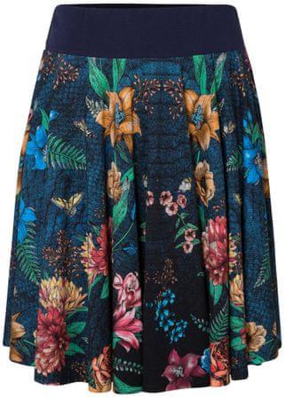 Desigual dámská sukně Fal Curiosity S tmavě modrá