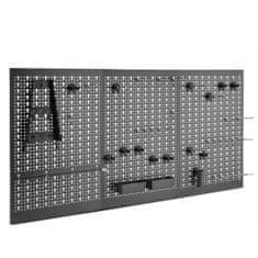 VonHaus kovinska tabla za orodje z nosilci