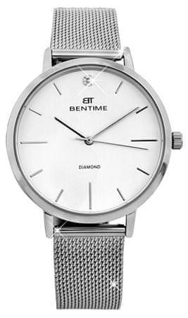 Bentime Dámské hodinky s diamantom 027-9MB-PT11894M