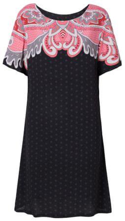Desigual dámské šaty Vest Túnica 36 černá