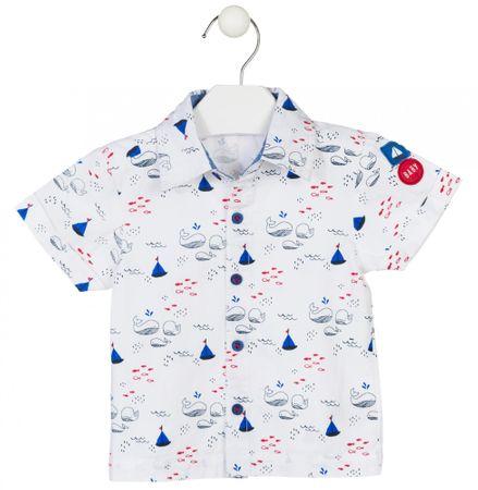 Losan chlapecká košile 68 bílá
