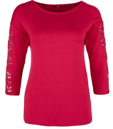 s.Oliver damska koszulka 42 różowy