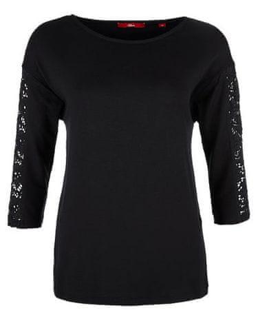 s.Oliver dámské tričko 34 černá
