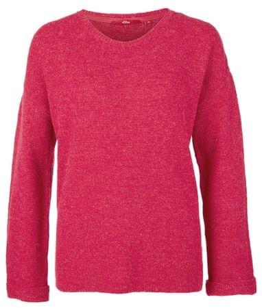 s.Oliver sweter damski 34 różowy