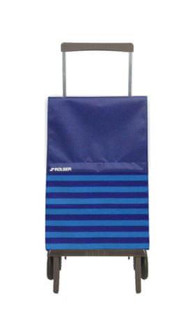 Rolser nakupovalna vrečka na kolesih Plegamatic Original Marina, modra